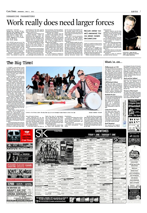 cape times big time