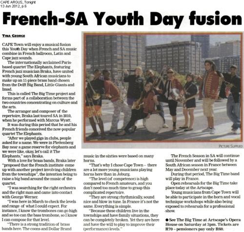 French-SA youthday fusion